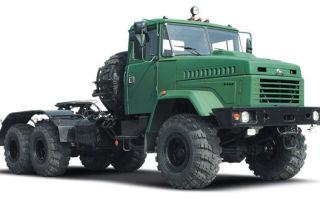 Краз-6446 (тип 1) характеристики и цена, фотографии и обзор