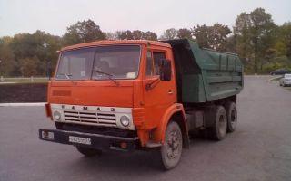 Камаз-5511 (самосвал) характеристики и цены, фотографии и обзор