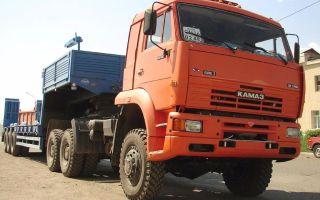 Камаз-65225-22: характеристики и цены, фотографии и обзор