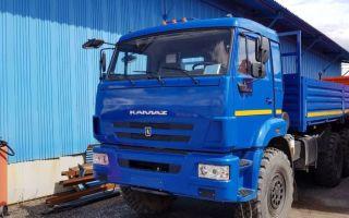 Камаз-43118 (дорестайлинговый) характеристики и цена, фотографии и обзор