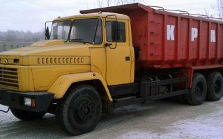 Краз-6230с4 (самосвал) цена и характеристики, фотографии и обзор