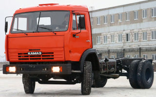 Камаз-43253: цена и характеристики, фотографии и обзор