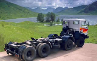 Камаз-6540 (дореформенное шасси) характеристики и цена, фото и обзор