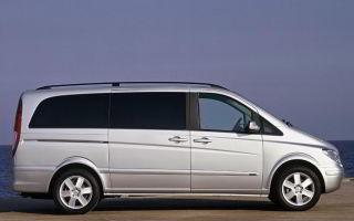 Mercedes-benz vito van (w639) характеристики и цены, фотографии и обзор