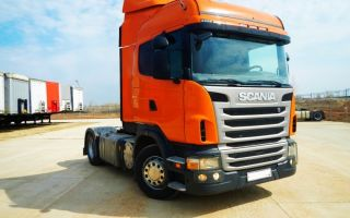 Scania g400 (тягач 4×2) цена и характеристики, фотографии и обзор
