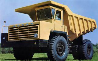 Белаз-540(а): характеристики, фотографии и обзор