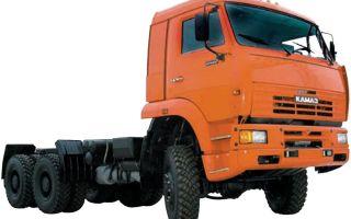 Камаз-65225 (дореформенное шасси) характеристики и цена, фото и обзор