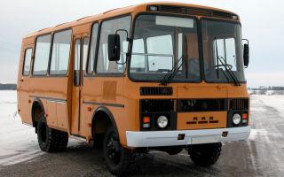 Паз-3206 технические характеристики и цена, фотографии и обзор