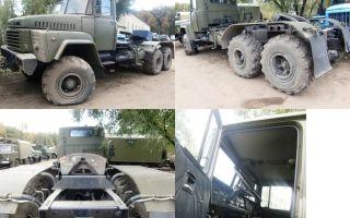 Краз-260в (седельный тягач) характеристики и цена, фотографии и обзор