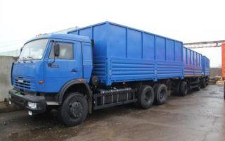 Камаз-53215 (зерновоз) характеристики и цена, фотографии и обзор