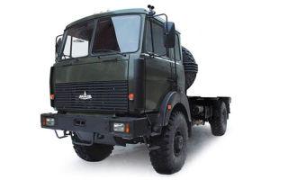 Маз-5316: цена и характеристики, фотографии и обзор