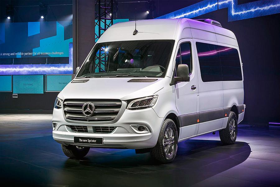 Mercedes Sprinter 2019 в Германии прошла презентация нового поколения машин